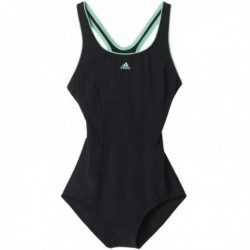 Adidas Shapewear Swimsuit Női Úszó Dress (Fekete-Türkíz) AK0054
