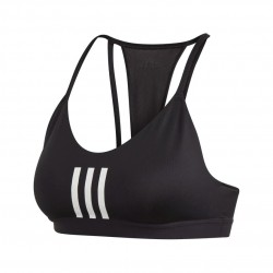 Adidas All Me 3S Mesh Bra Női Sportmelltartó (Fekete-Fehér) FT1871