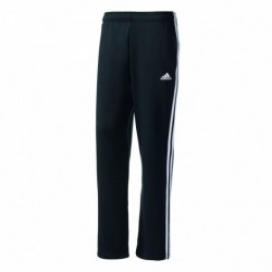 Adidas Essentials 3 Stripes Regular Fit Fleece Pant Férfi Nadrág (Fekete-Fehér) BK7427
