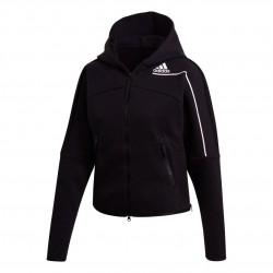 Adidas ZNE Hoodie Női Felső (Fekete-Fehér) GM3275