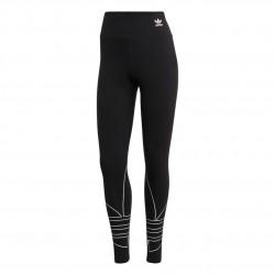 Adidas Originals Large Logo Tights Női Nadrág (Fekete-Fehér) GD2252