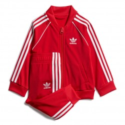 Adidas Originals SST Tracksuit Uniszex Bébi Együttes (Piros-Fehér) GD2631