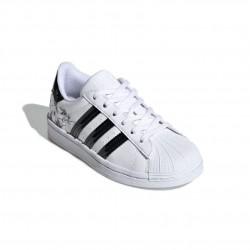 Adidas Originals Superstar C Lány Gyerek Cipő (Fehér-Fekete) FW0777