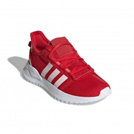 Adidas Originals U Path Run C Uniszex Gyerek Cipő (Piros-Fehér) FW0437