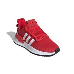 Adidas Originals U Path Run J Uniszex Cipő (Piros-Fehér) FW0434