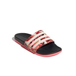 Adidas Adilette Comfort Slides Női Papucs (Rózsaszín-Fekete) FW7256