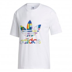 Adidas Originals Flag Fill Tee Férfi Póló (Fehér-Színes) GD0953