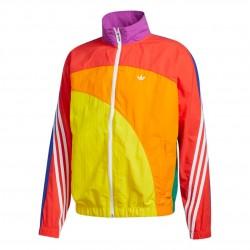 Adidas Originals Pride Off Center Jacket Férfi Széldzseki (Színes) GD0955