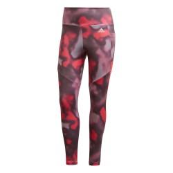 Adidas D2M AOP 7/8 Leggings Női Nadrág (Rózsaszín) GD4658