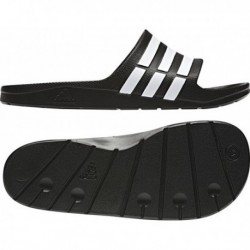 Adidas Duramo Slide Férfi Papucs (Fekete-Fehér) G15890