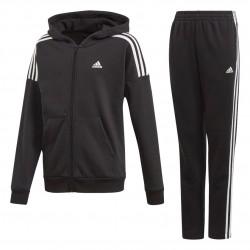 Adidas JB Cotton Tracksuit Fiú Gyerek Melegítő Együttes (Fekete-Fehér) FM5716