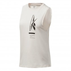 Reebok Vector GR Muscle Tank Top Női Trikó (Fehér-Fekete) FU2026
