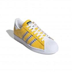 Adidas Originals Superstar Férfi Cipő (Sárga-Fehér-Fekete) FW9210