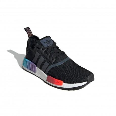 Adidas Originals NMD R1 Férfi Cipő (Fekete-Színes) FW4365
