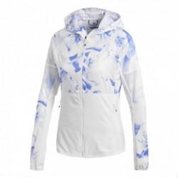 Adidas Ultra Graphic Jacket Női Futó Felső (Fehér-Kék) CF9880