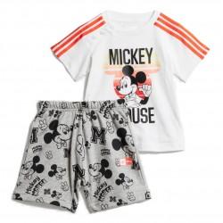 Adidas Disney Mickey Mouse Summer Set Kisfiú Bébi Együttes (Fehér-Szürke) FM2864