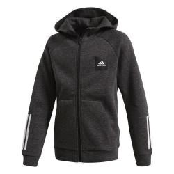 Adidas JB Must Haves Hoodie Fiú Gyerek Felső (Fekete-Fehér) FL2836