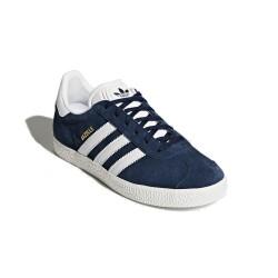 Adidas Originals Gazelle J Uniszex Cipő (Kék-Fehér) BY9144