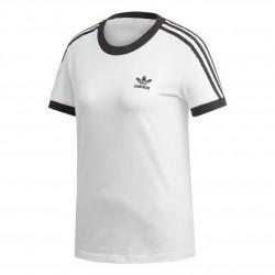 Adidas Originals 3 Stripes Tee Női Póló (Fehér-Fekete) ED7483