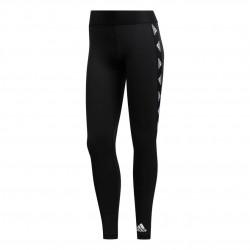 Adidas Alphaskin Badge Of Sport Tights Női Nadrág (Fekete-Fehér) FT3144