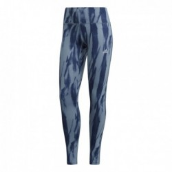 Adidas Designed 2 Move Climalite Printed Tights Női Nadrág (Kék) CF4589
