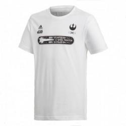 Adidas Performance Fighters Tee Fiú Gyerek Póló (Fehér-Fekete) CE5388