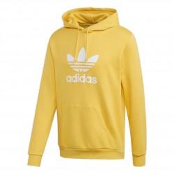 Adidas Originals Trefoil Hoodie Férfi Pulóver (Sárga-Fehér) FM3785