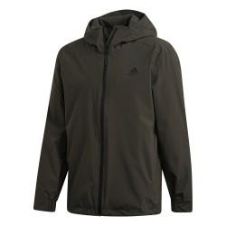 Adidas BSC 3 Stipes Rain.RDY Jacket Férfi Esőkabát (Zöld) FI0573