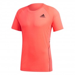 Adidas Runner Tee Férfi Futó Póló (Rózsaszín-Fekete) FT1787