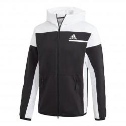 Adidas ZNE Full Zip Férfi Felső (Fekete-Fehér) GM6533