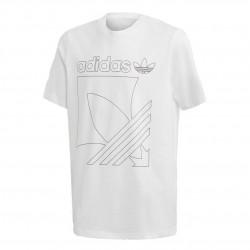 Adidas Originals Badge Tee Fiú Gyerek Póló (Fehér-Fekete) GD2754