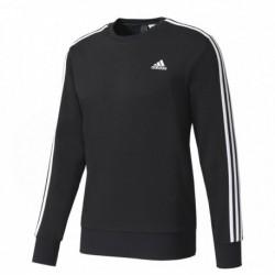 Adidas Essentials 3 Stripes Sweatshirt Férfi Pulóver (Fekete-Fehér) S98803