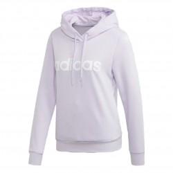 Adidas Essentials Linear Hoodie Női Pulóver (Lila-Fehér) FM6438
