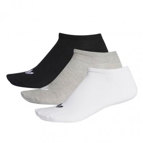 Adidas Originals Trefoil Linear Socks 3PP 3 Páras Zokni (Fekete-Szürke-Fehér) FT8524