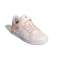 Adidas Grand Court C Lány Gyerek Cipő (Barack-Fehér) FW4937