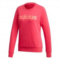 Adidas Essentials Linear Sweatshirt Női Pulóver (Rózsaszín) GD2955