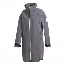 Adidas Myshelter Rain.RDY Parka Női Esőkabát (Szürke-Fehér) GE7797