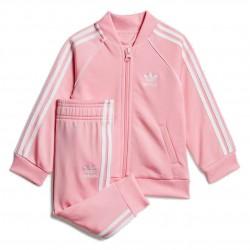 Adidas Originals SST Tracksuit Kislány Bébi Együttes (Rózsaszín-Fehér) GD2628