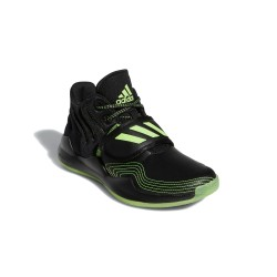 Adidas Deep Threat J Fiú Gyerek Cipő (Fekete-Zöld) FW8526