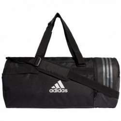 Adidas 3 Stripes Convertible Duffel Bag Medium Sporttáska (Fekete) CG1533
