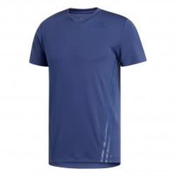 Adidas Aeroready 3 Stripes Tee Férfi Póló (Kék) FR7542