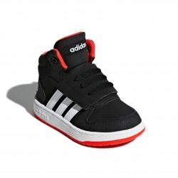 Adidas Hoops 2.0 I Kisfiú Gyerek Cipő (Fekete-Piros) B75945