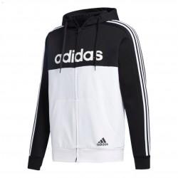Adidas Essentials Colorblock HD TT Férfi Felső (Fehér-Fekete) GD5503