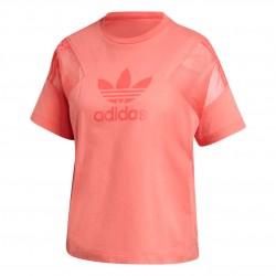 Adidas Originals Short Sleeve Tee Női Póló (Rózsaszín) FU3852
