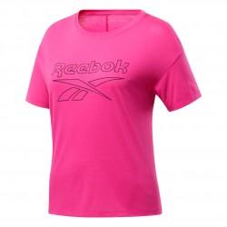Reebok WOR SUP BL Tee Női Póló (Pink-Fekete) FU2315