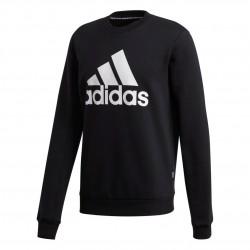 Adidas Badge Of Sport Fleece Crew Férfi Pulóver (Fekete-Fehér) GC7336