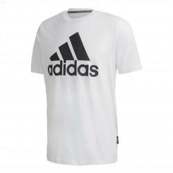 Adidas Must Haves Badge Of Sport Tee Férfi Póló (Fehér-Fekete) GC7348