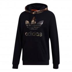 Adidas Originals Camo Hoodie Férfi Pulóver (Fekete-Barna) GD5956
