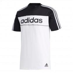 Adidas Essentials Tape Tee Férfi Póló (Fekete-Fehér) GD5496