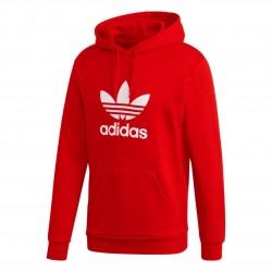 Adidas Originals Trefoil Hoodie Férfi Pulóver (Piros-Fehér) GD9924